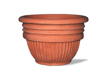 Greek Ribbed Planter