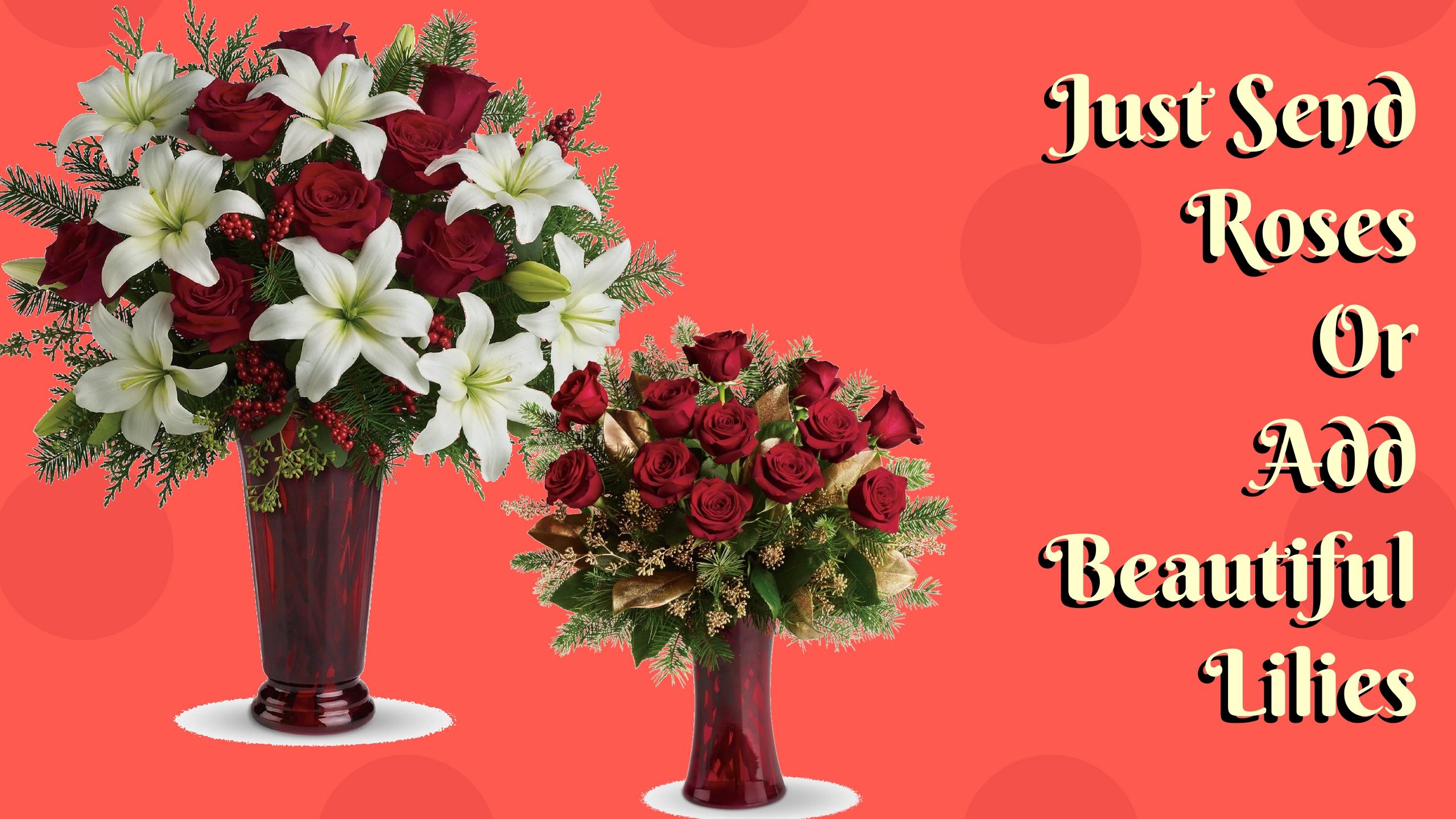 Tis The Season For Delivering Festive Christmas Floral Arrangements