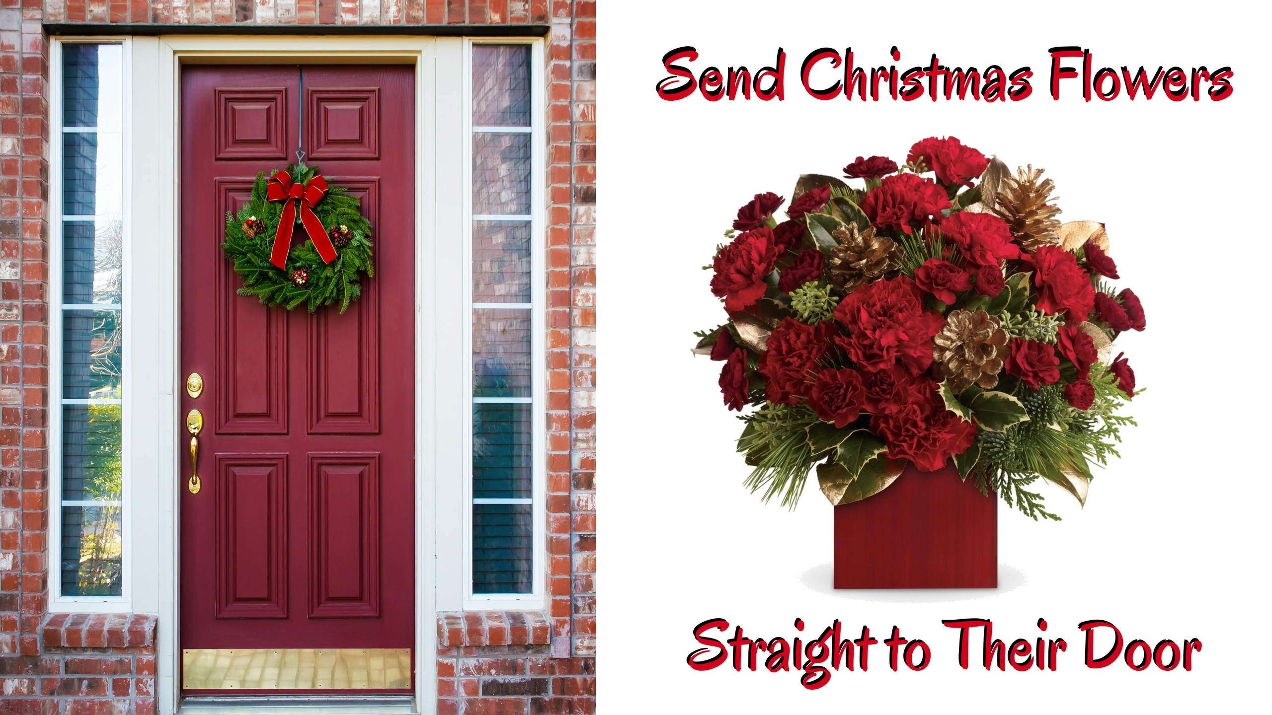 Tis The Season For Delivering Festive Christmas Floral Arrangements