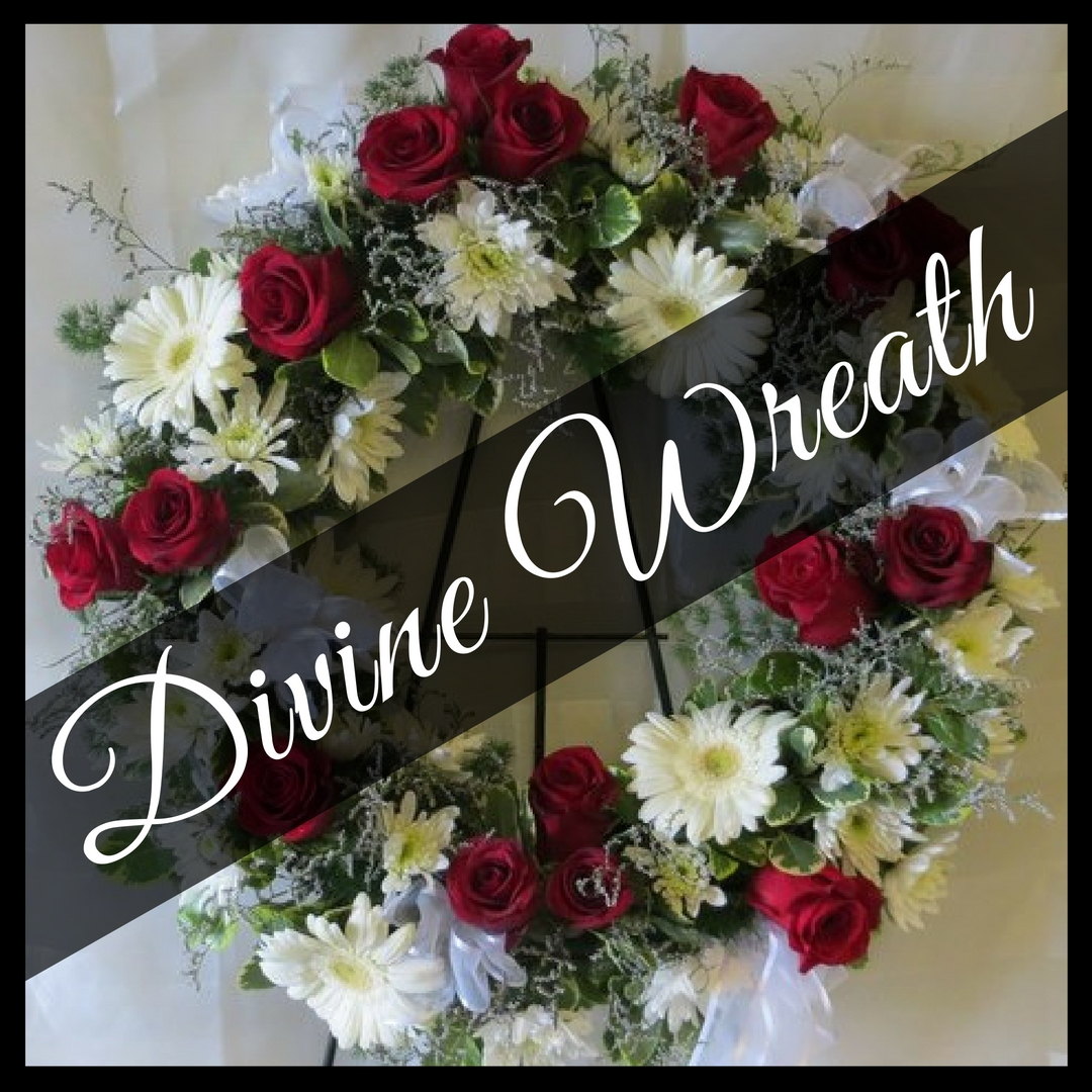 Memorable funeral wreath tributes enchanted florist pasadena funeral wreath sympathy flowers wreaths flower shop 1 izmirmasajfo Images