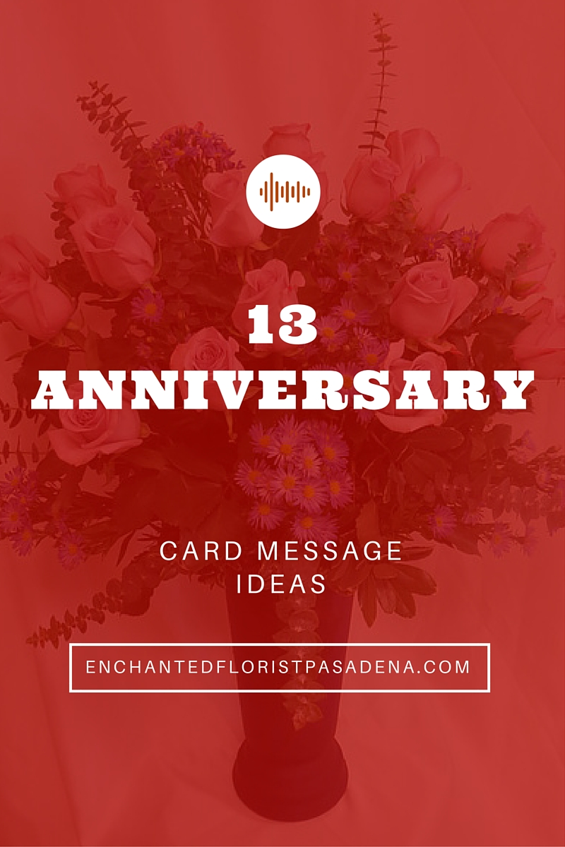 happy anniversary flowers card message ideas