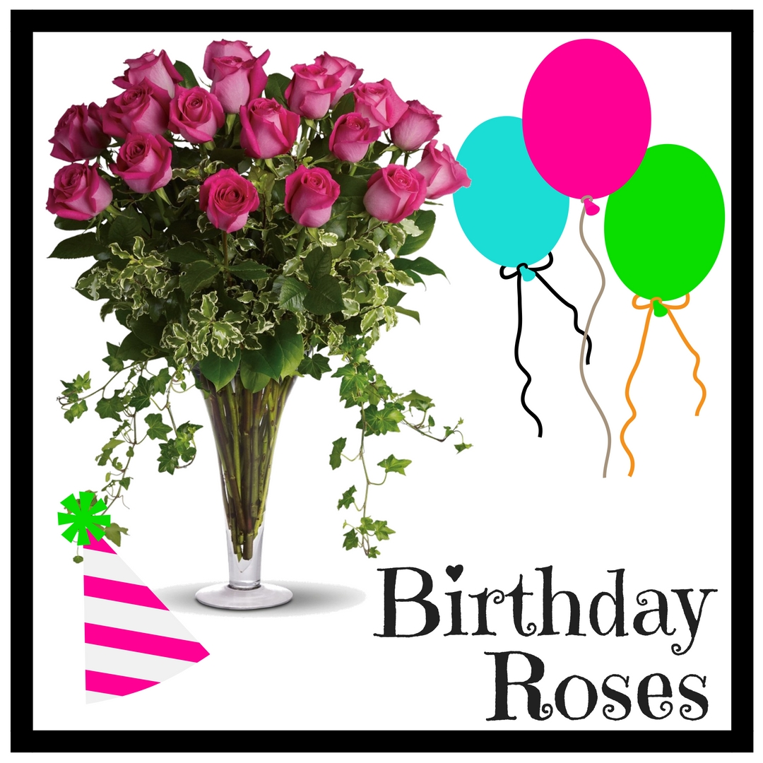 Happy birthday flowers balloons that are a sure hit enchanted houston florist beautiful birthday flowers delivery q izmirmasajfo Image collections