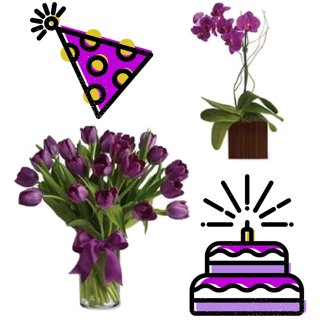 Happy birthday flowers balloons that are a sure hit enchanted houston florist beautiful birthday flowers delivery 2 izmirmasajfo