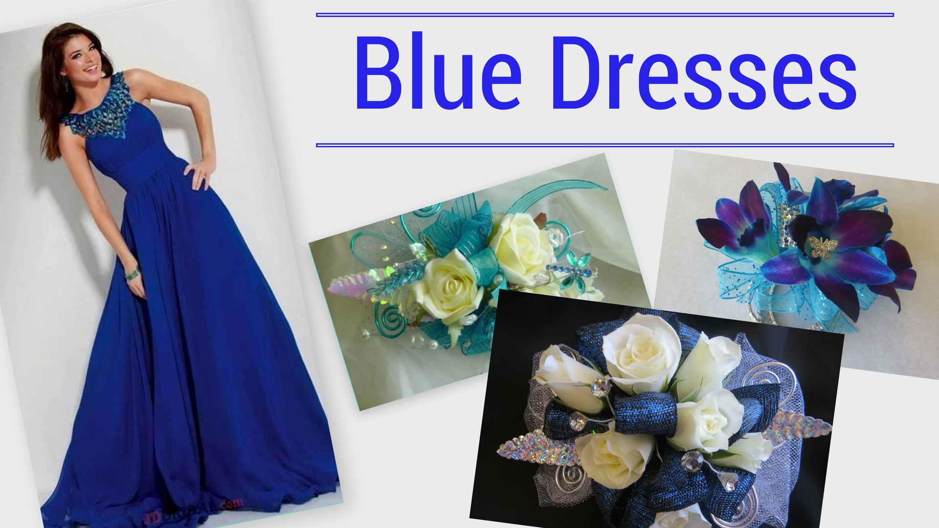 Prom 2018 Trends prom corsage near me flower shop in pasadena tx blue dress