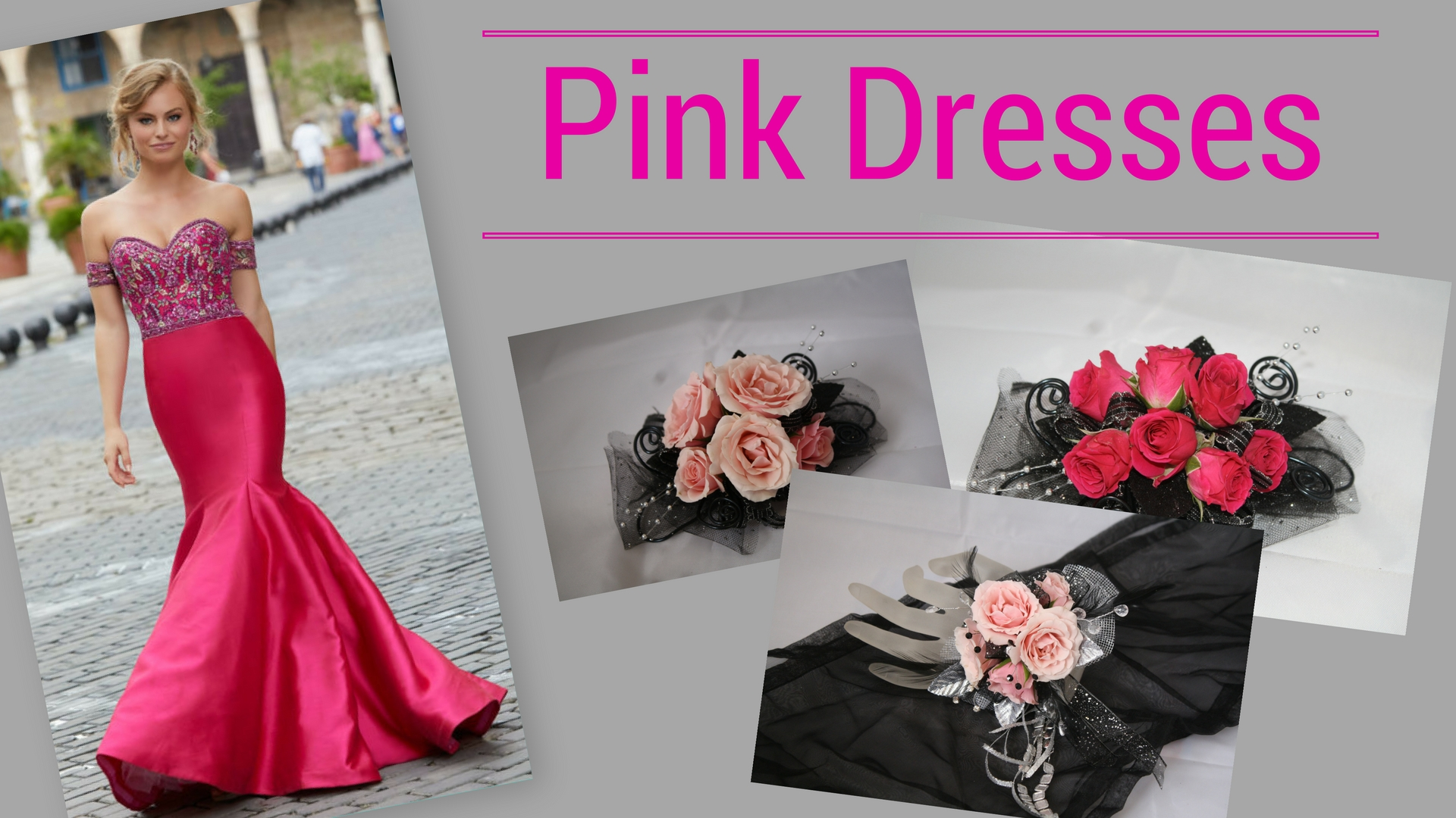 Prom 2018 Trends prom corsage near me flower shop in pasadena tx Pink dress