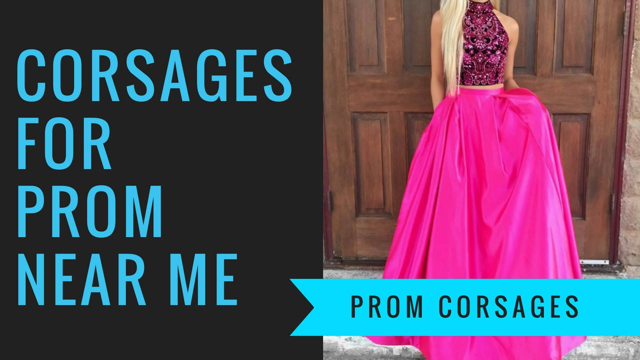 Prom 411 Crosages for Prom Near Me florist in Pasadena TX pink