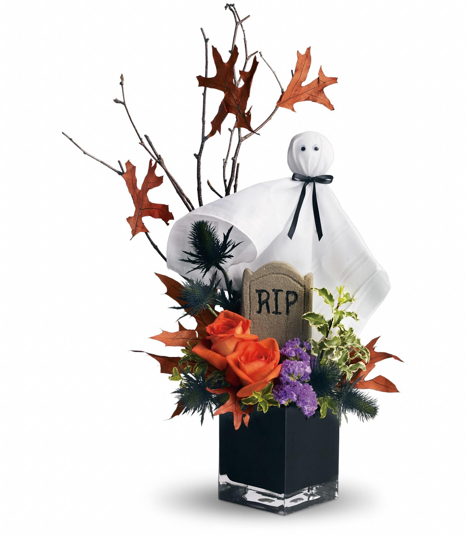Halloween flowers florist in pasadena texas