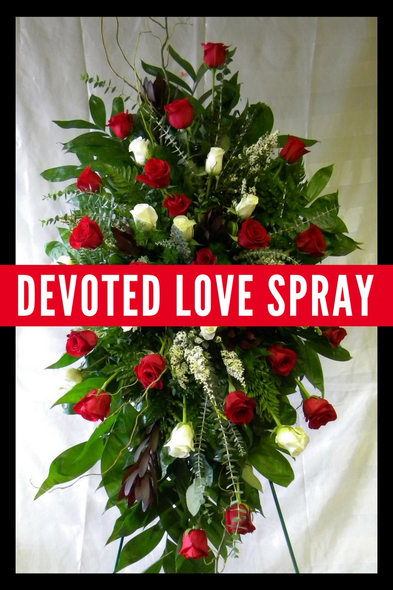 Buying red rose funeral flowers in pasadena texas enchanted red rose funeral flowers 1 izmirmasajfo