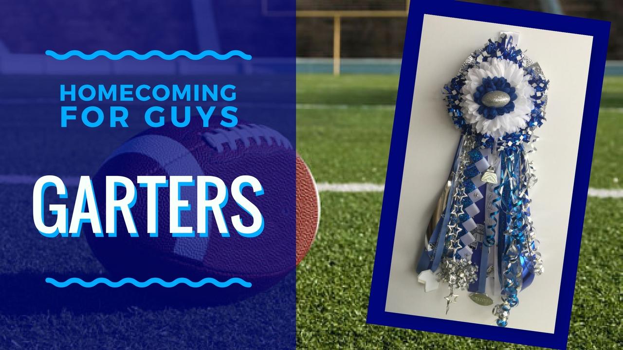 sam rayburn high school homecoming garter boutonniere
