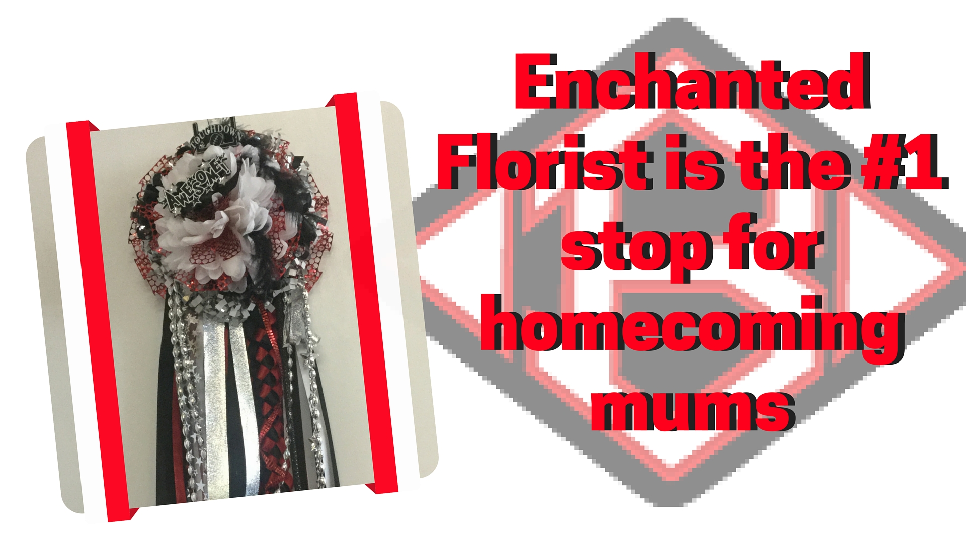 Clear Brook High School homecoming mums