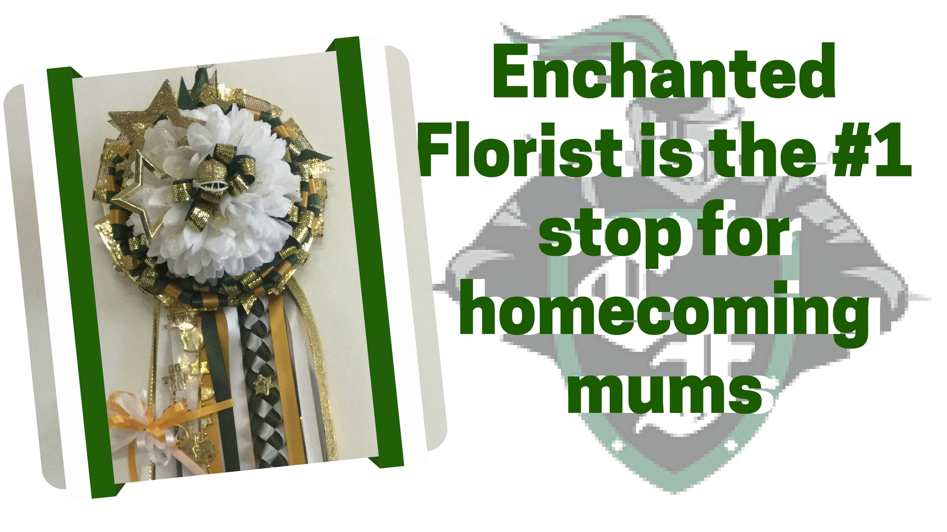 homecoming mums for clear falls high school