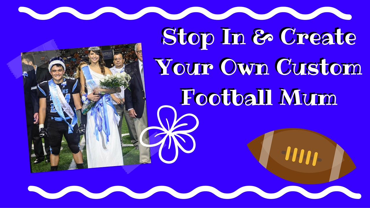 Sam Rayburn High School Homecoming Mums for sale in Pasadena Texas 1