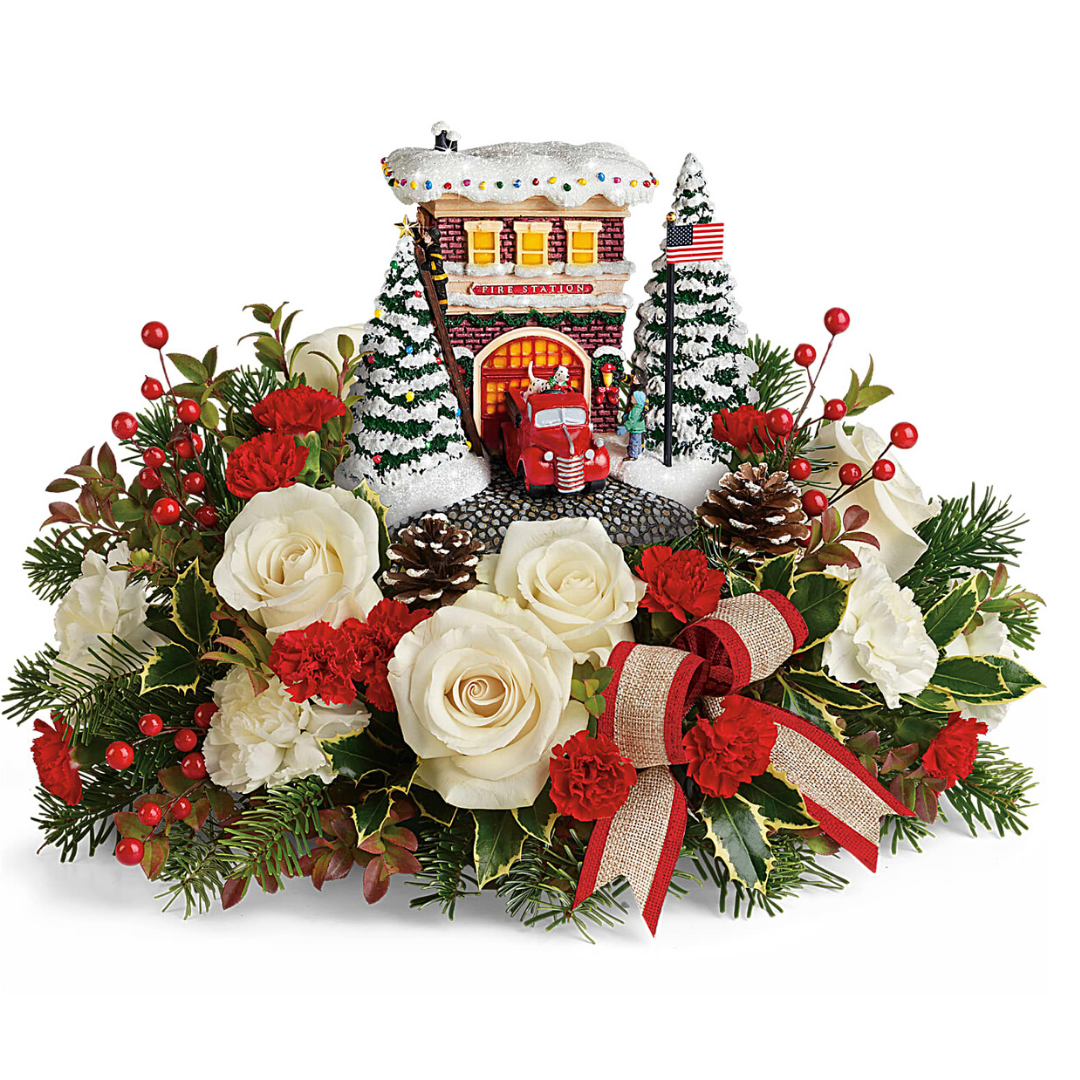 teleflora thomas kinkade 2019 heros holiday