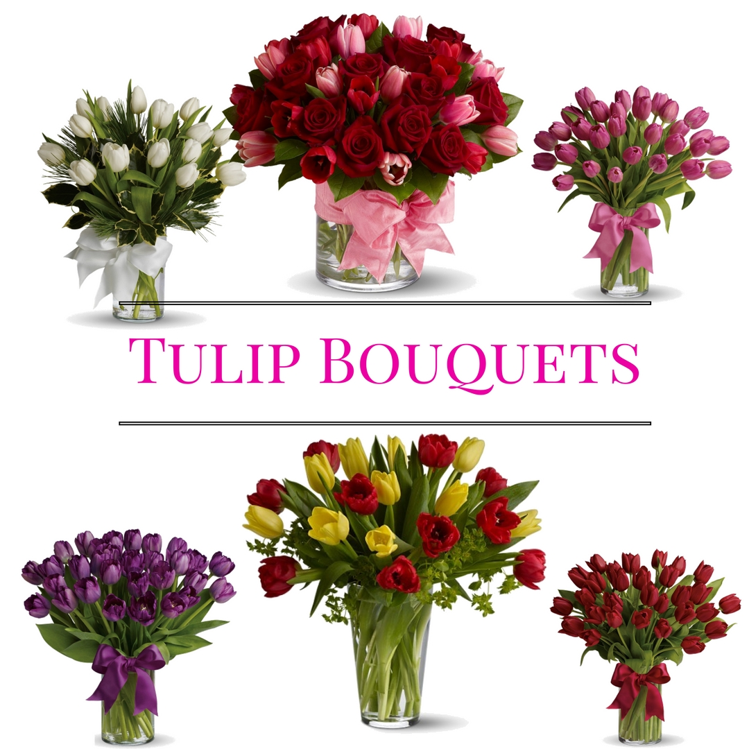 tulip bouquet deliveru houston florist flower shop 3