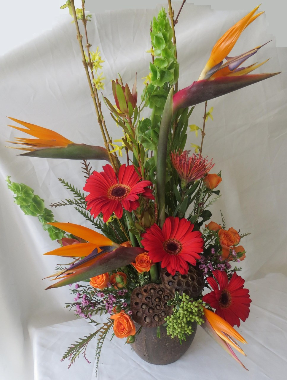 Exotic flowers and Tropical flowers with Same Day delivery in Houston TX