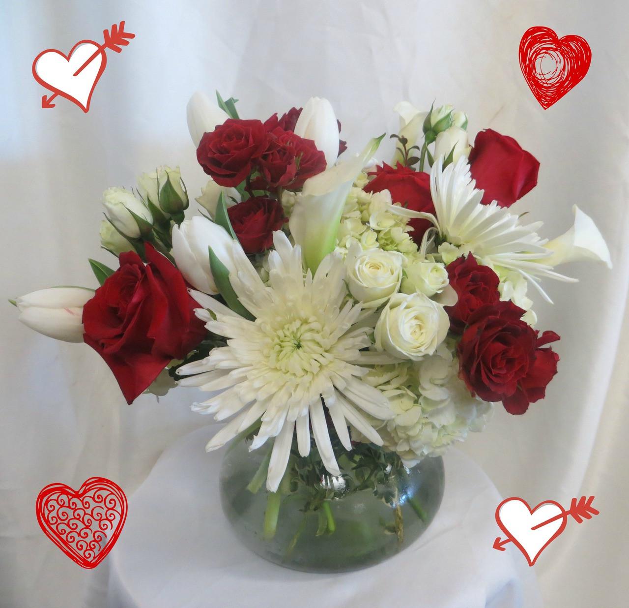 Make Out Bouquet Valentines Day Flower Arrangements