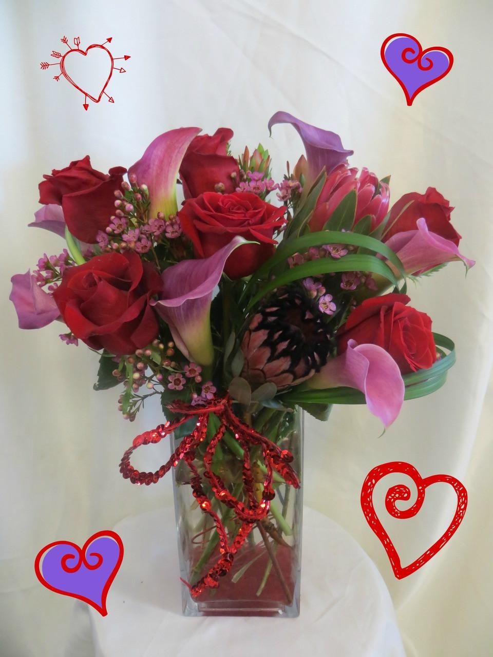 Madly in Love Bouquet | Valentines Day Flower Arrangements