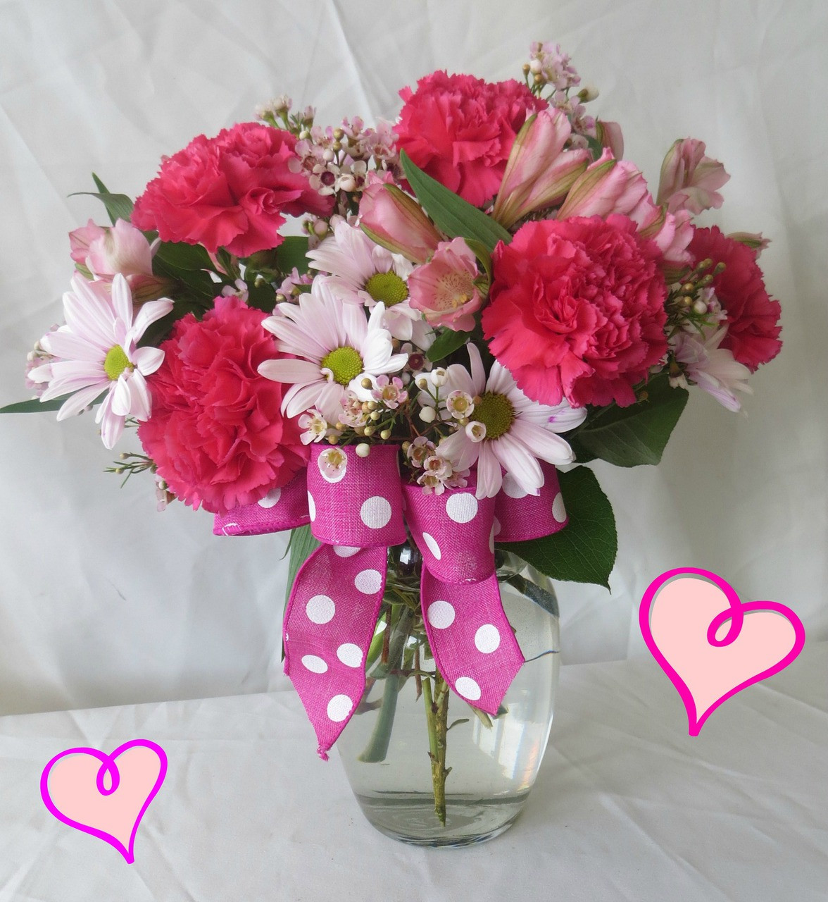 Sweetheart pink bouquet cheap valentines day flowers sweetheart pink valentines day bouquet by enchanted florist pasadena tx this valentines day bouquet of mightylinksfo