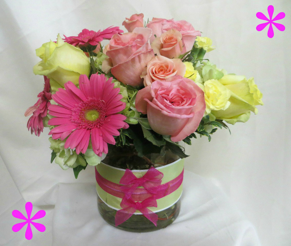 Pink Mothers Day Flowers Pasadena Tx