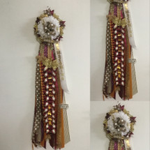 Deluxe Deer Park High School Homecoming Mum