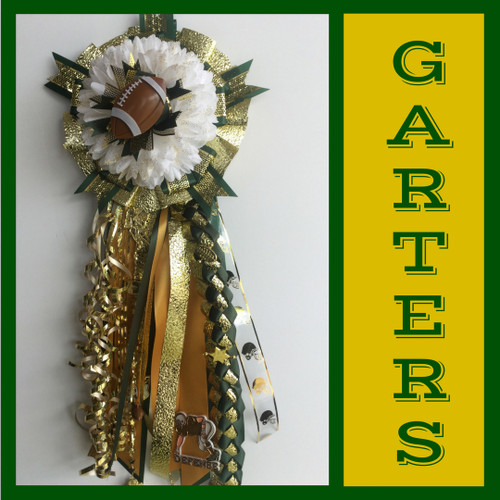 Clear Falls High School Homecoming Garters Boutonnieres