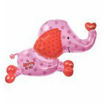 Jungle Love Elephant Mylar Balloon