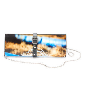 Recycled Photo Clutch