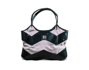 "Light Pink Eco-Chic ""Trashion"" Tote"