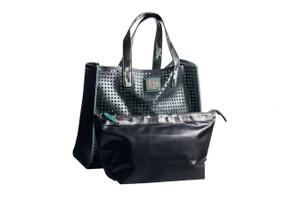 Perforated Recycled Beach Tote handbag