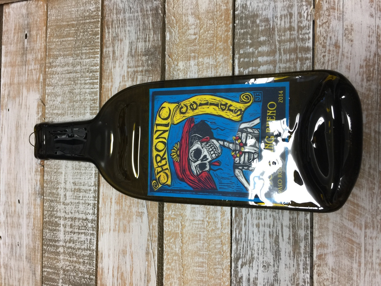 Chronic Cellars Sofa King Bueno Melted Wine Bottle Cheese Serving