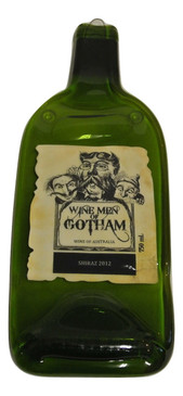 Winemen of Gotham - Gotham Wines Melted Wine Bottle Cheese Serving Tray - Wine Gifts