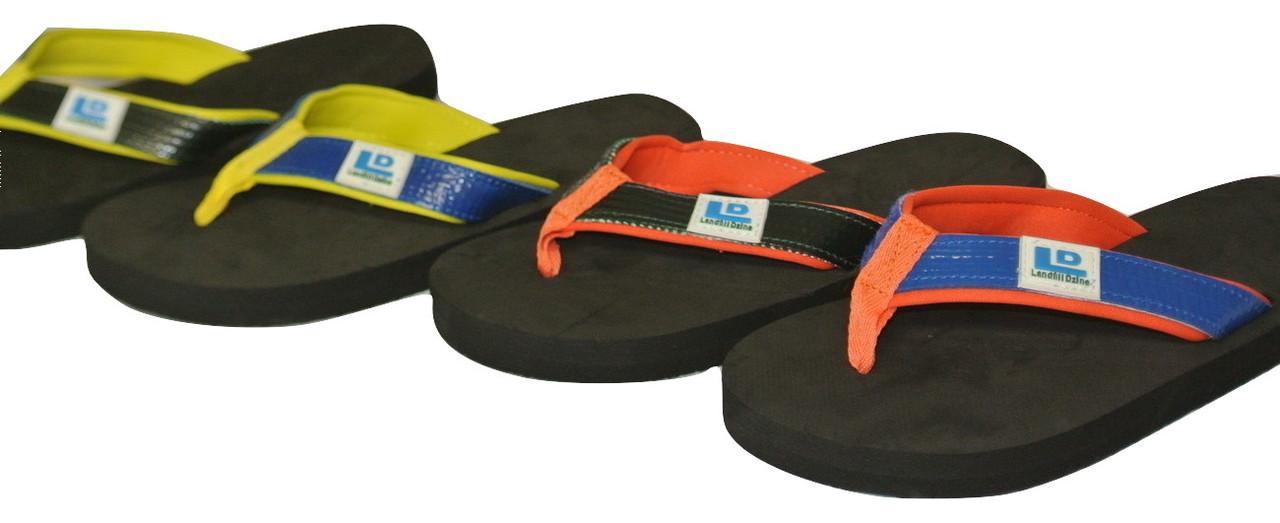 14ac3684ed85 Kids Sandal Flip Flop - Recycle Eco Friendly Shoes - Landfill Dzine®