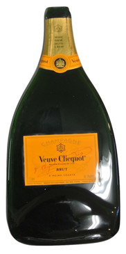 Veuve Clicquot Melted  750ML Champagne Bottle Cheese Serving Tray - Wine Gifts