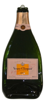 Veuve Clicquot Rose Melted  750ML Champagne Bottle Cheese Serving Tray - Wine Gifts