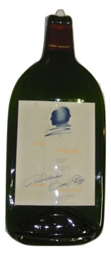 Opus One 1.5L Melted Wine Bottle Cheese Serving Tray - Wine Gifts