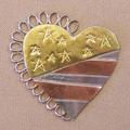 AMERICANA HEART NEEDLE NANNY