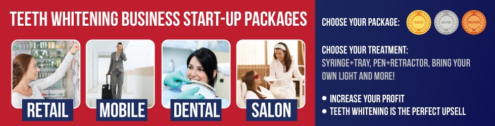Teeth Whitening Business Startup package banner