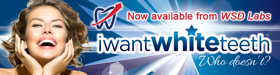 WSD LABS USA now offers iWantWhiteTeeth branded Professional Teeth Whitening