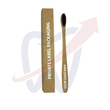Have YOUR LOGO engraved on the Toothbrush handle and your box Private Labeled