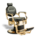 AYC McKinley Barber Chair (Black/Gold)