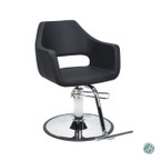 AYC RICHARDSON Styling Chair (BLK)