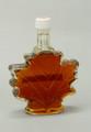 Medium Glass Maple Leaf, Amber Rich, Grade A
