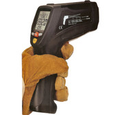 High Temperature Infrared Thermometer Dual Laser includes K Type Thermocouple & Software