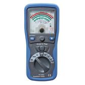 Pro Analog Insulation Tester Megger Ohm Meter Cat III 1000V
