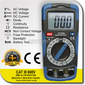 Compact Digital Multimeters and Non Contact Voltage Detector