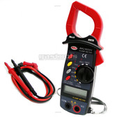 AC 600A Clamp Meter Multimeter and Non Contact Voltage Detector (NVC)
