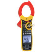 AC 1000A Clamp Meter Multimeter Large Clamp,  True Power / Apparent Power / Power Factor, USB Data Logger, Software, CATT III CAT IV