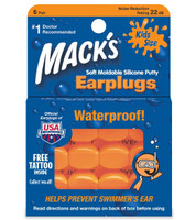 Mack's Moldable Silicone Putty Ear Plugs - Kids Size