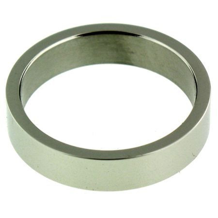 Shiny Stainless Steel  Band Ring  Steel shiny band ring can be engraved   Top Width: 5mm  Available Sizes: 6 - 16