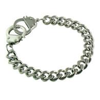 Stainless Steel Handcuffs Bracelet
